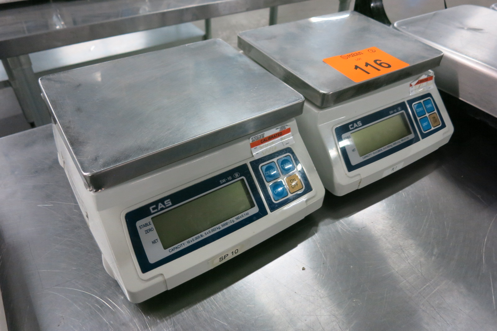 Lot 116 - Line Scales