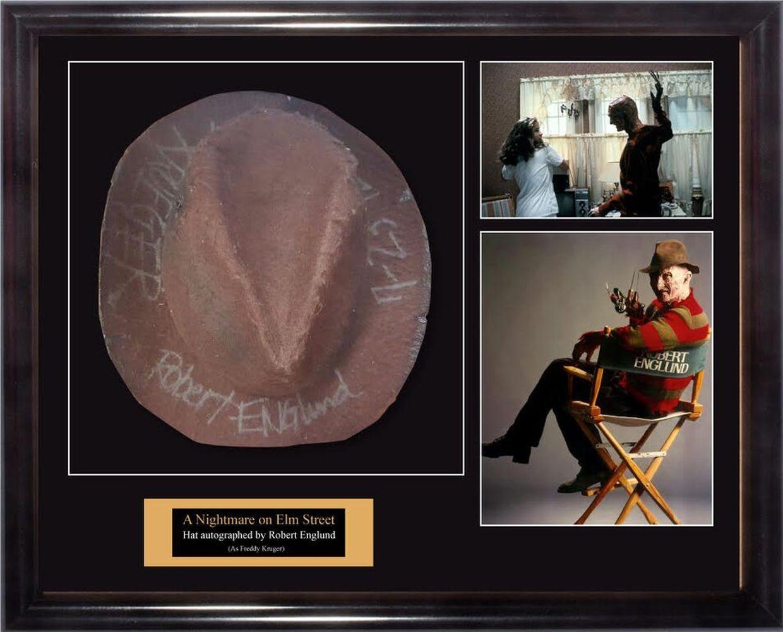 Robert Englund Signed Freddy Krueger's Hat