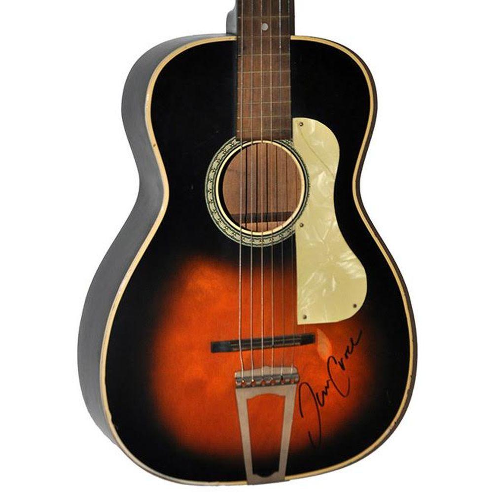 Jim Croce Signed Acoustic Guitar