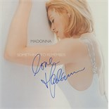 Madonna Signed Something to Remember Album
