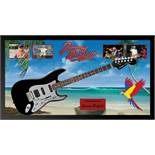 Jimmy Buffet Signed and Framed Guitar