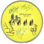 Fleetwood Mac Signed Drum Head
