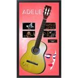 Adele Acoustic Signed and Framed Guitar