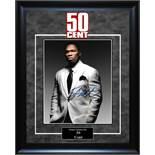 50 Cent Autographed Artsit Series Photo