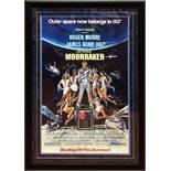 James Bond Moonraker - Signed Movie Poster