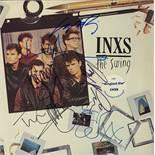 INXS Signed The Swing Album