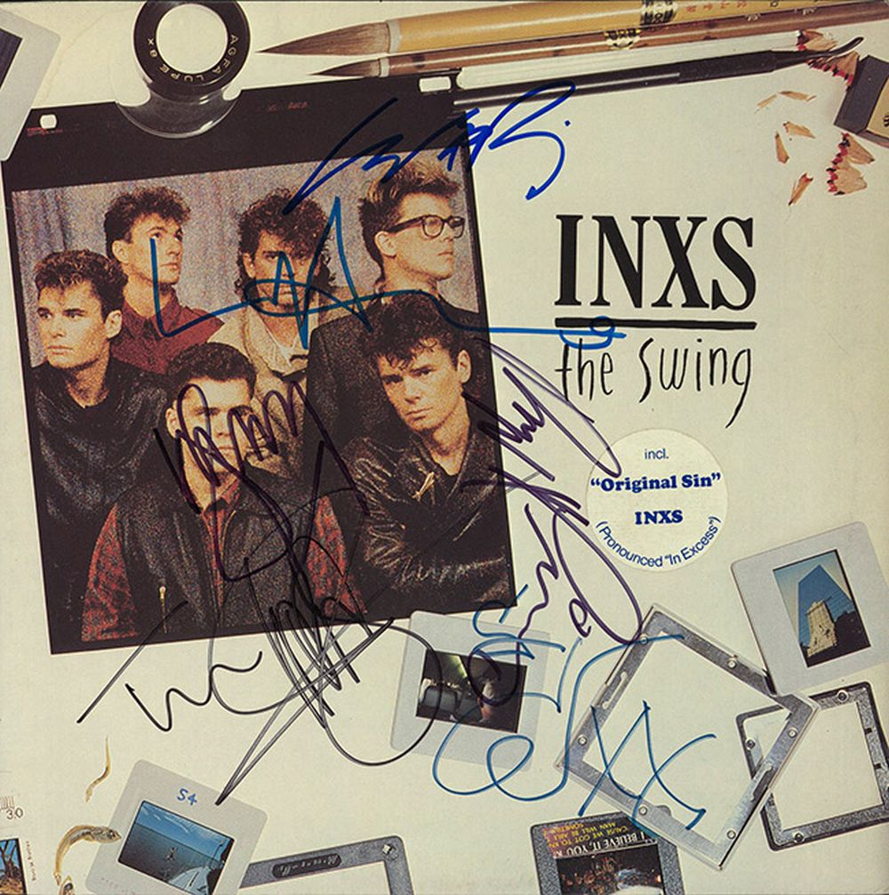 INXS Signed The Swing Album