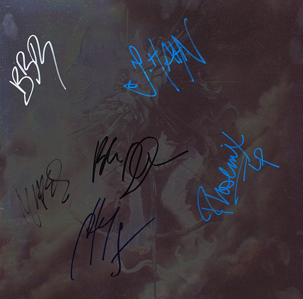 Linkin Park Signed Hunting Party Album