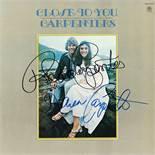 The Carpenters Signed Close to You Album