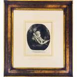 "Rembrandt Etching - ""Jan Uytenbogaert, Armenian Preacher"" Nowell-Usticke 6th state"