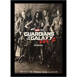 Guardians of the Galaxy Vol. 2 Sepia Movie Poster