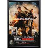 Edge of Tomorrow Signed Movie Poster