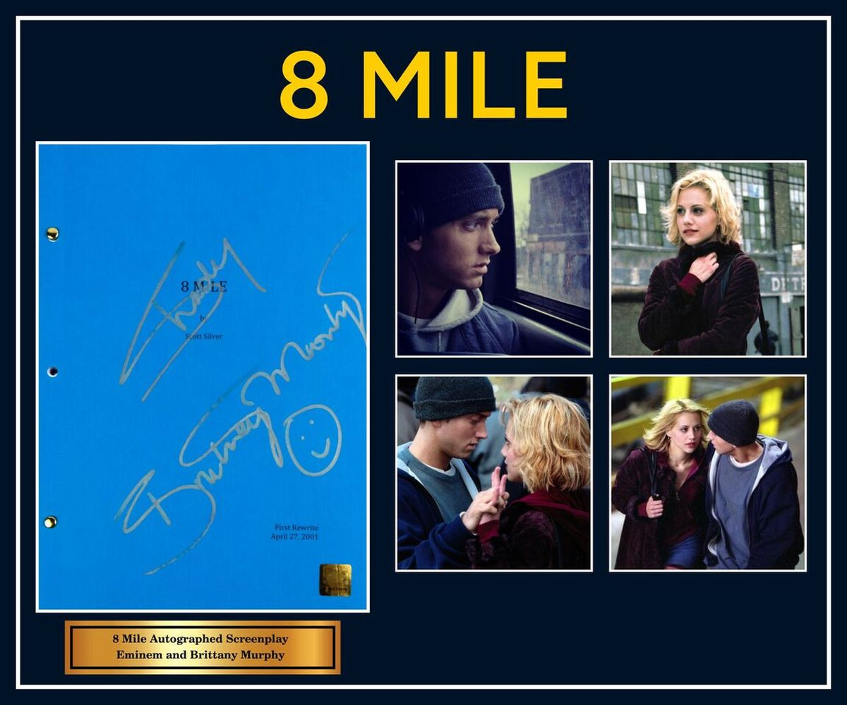 8 Mile Signed Script Collage