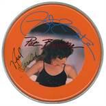Pat Benatar & Neil Giraldo Signed Drum Head