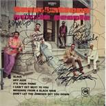 The Temptations Signed Puzzle People Album