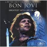 Bon Jovi Signed Greatest Hits Live Album