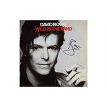 David Bowie Signed Wild is the Wind Album