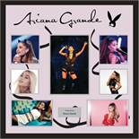 Ariana Grande Signed Collage