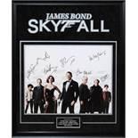 James Bond: Skyfall - Signed by Cast - Framed Artist Series
