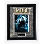 Hobbit - Signed by Ian McKellan - Framed Artist Series