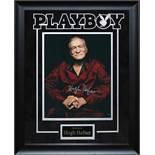 Hugh Hefner Autographed Photo