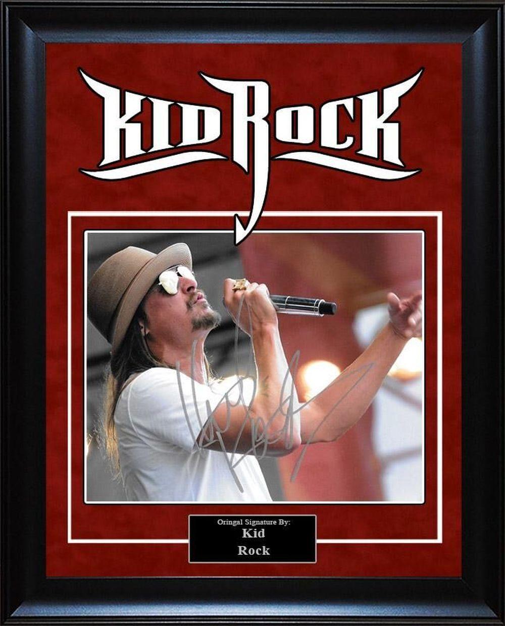 Kid Rock Signed Photo