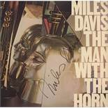 Miles Davis Signed The Man with the Horn Album