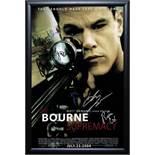 The Bourne Supremacy- Cast Signed Movie Poster Wood Framed