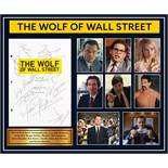 Wolf of Wall Street Signed Script