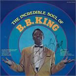 B.B. King Signed The Incredible Soul Album