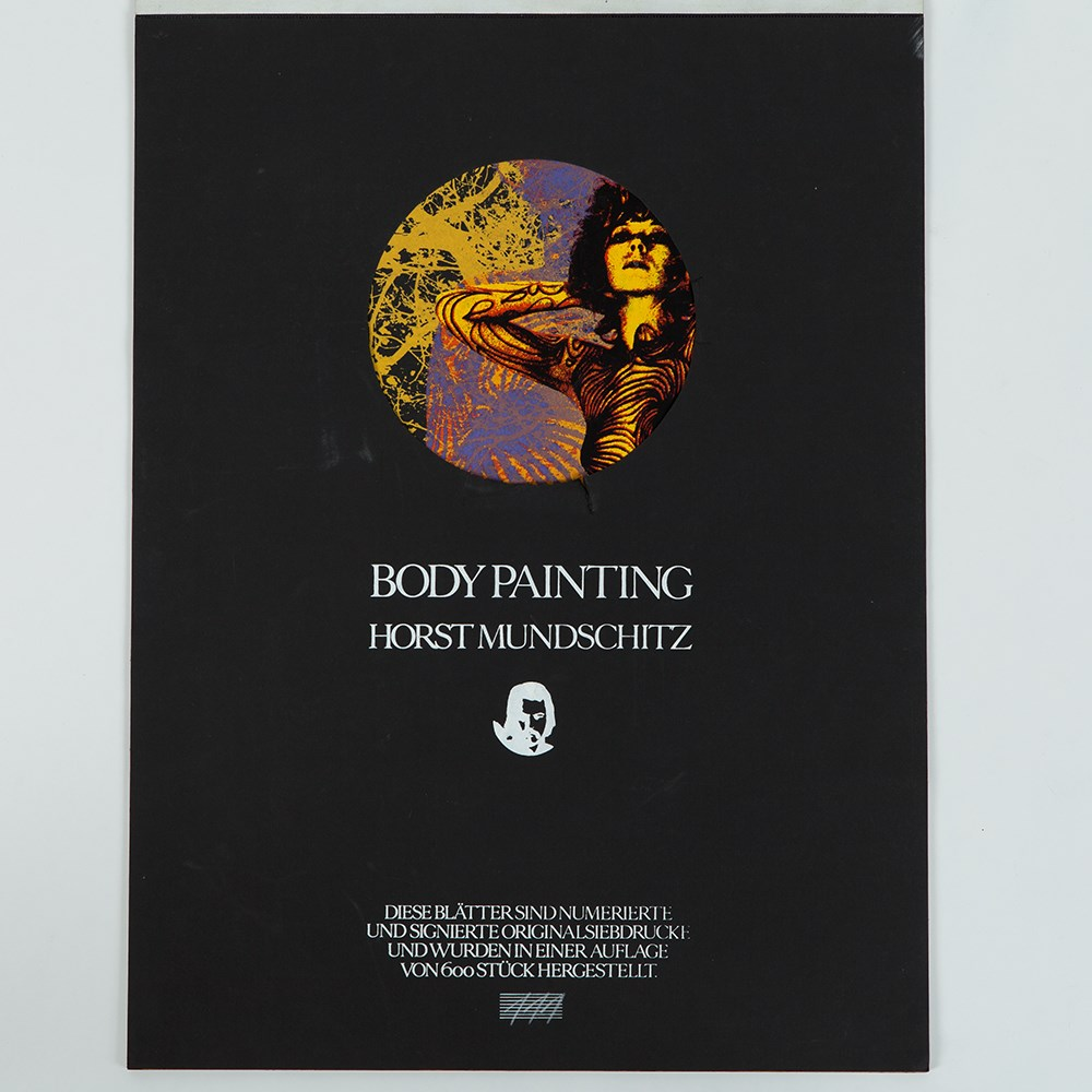 Lot 34 - Body Painting Calendar by Horst Mundschitz, Austria, 1973 6 screen prints on paperAustria, 1973Horst
