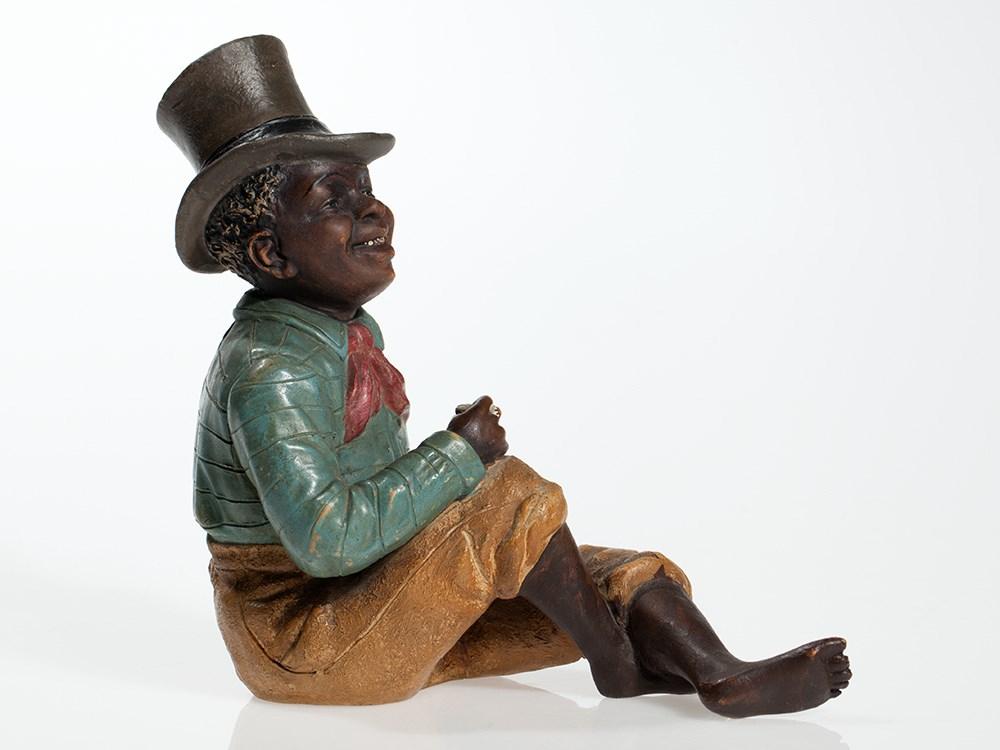 Lot 18 - Decorative Black Americana figure by Johann Maresch, c. 1910 Austria, around 1910Johann Maresch (