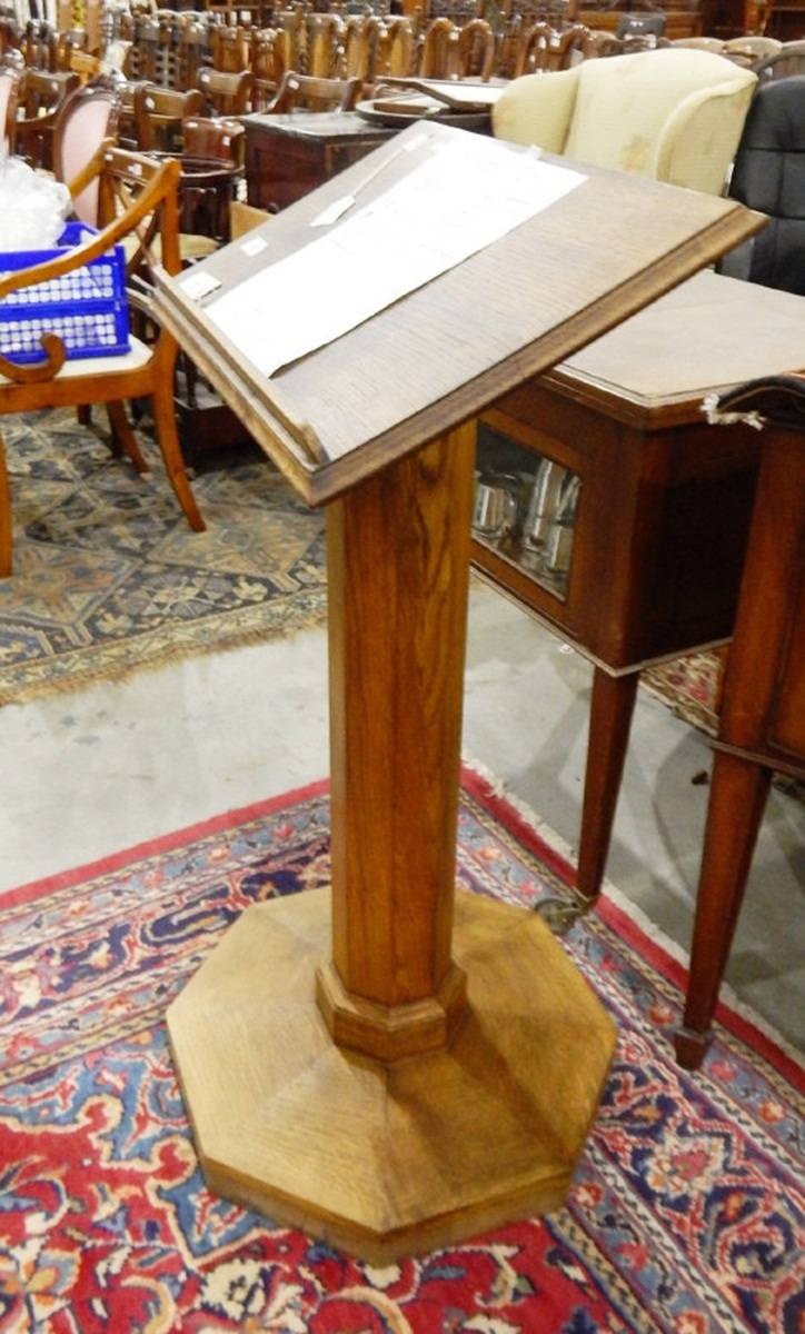 Arts And Crafts Style Lectern
