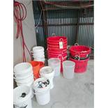 Lot of Buckets - Sub to Bulk | Reqd Rig Fee: $25 or Hand Carry
