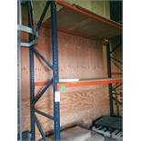 (2) Sections of Pallet Racking - Sub to Bulk | Reqd Rig Fee: $650