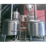 2013 Pacific Brewing 30 BBL 3-Vessel Brewhouse + Hot Liquor Tank - Sub to Bulk | Reqd Rig Fee: $6500