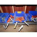 LOT/ RIDGID PIPE CUTTERS (SC 230)