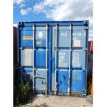 40' SEA CONTAINER, S/N: N/A (SC 230) (DELAYED DELIVERY) (CI)