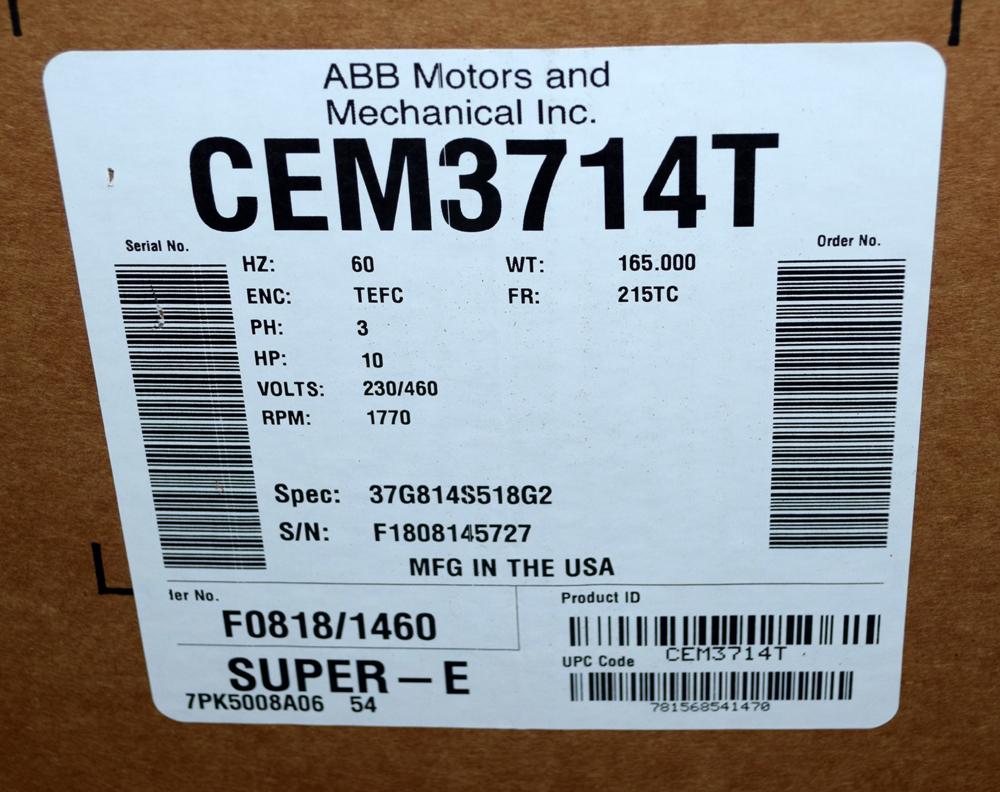 Unused Baldor Motor - Image 3 of 3