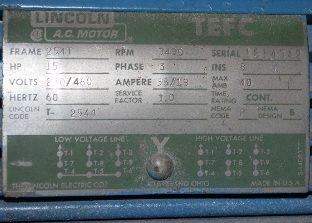 Lot 213 - Conair Vacuum Loader
