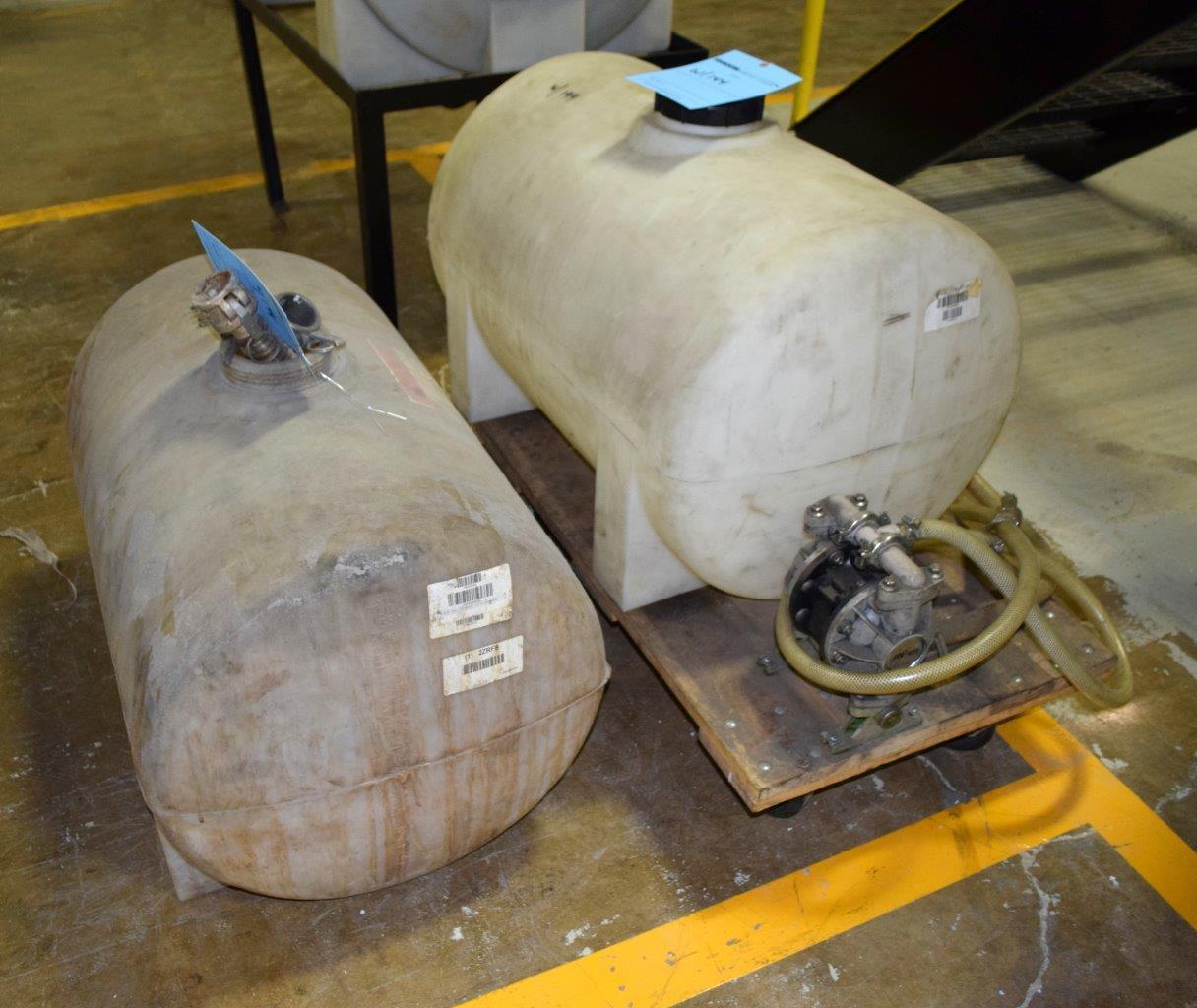 Lot 144 - Plastic Tanks