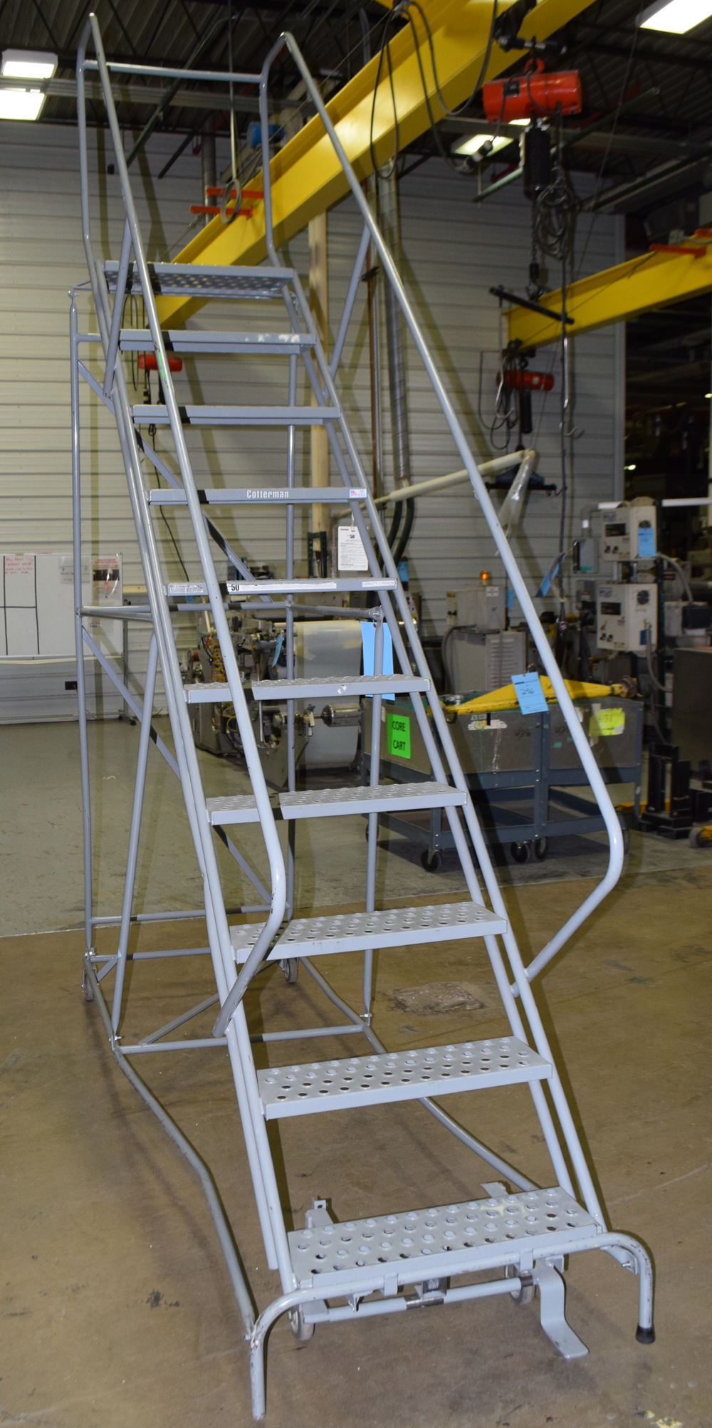 Rolling Ladder - Image 2 of 4