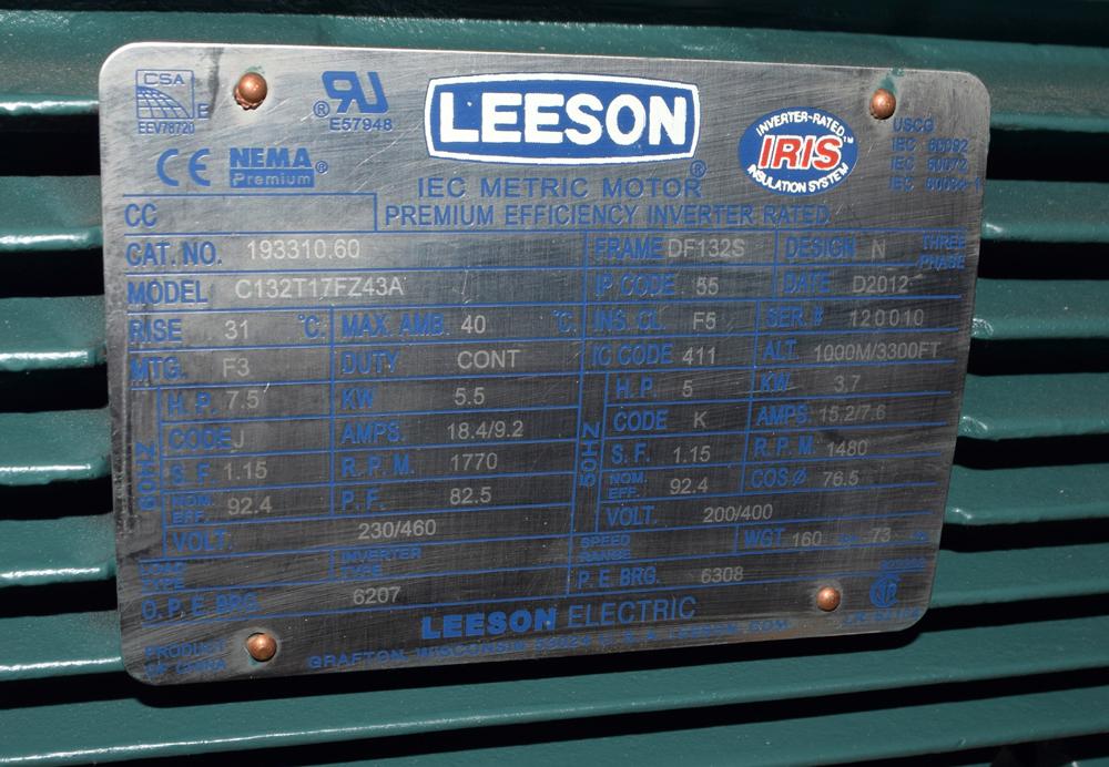 Unused Leeson Motor - Image 3 of 3