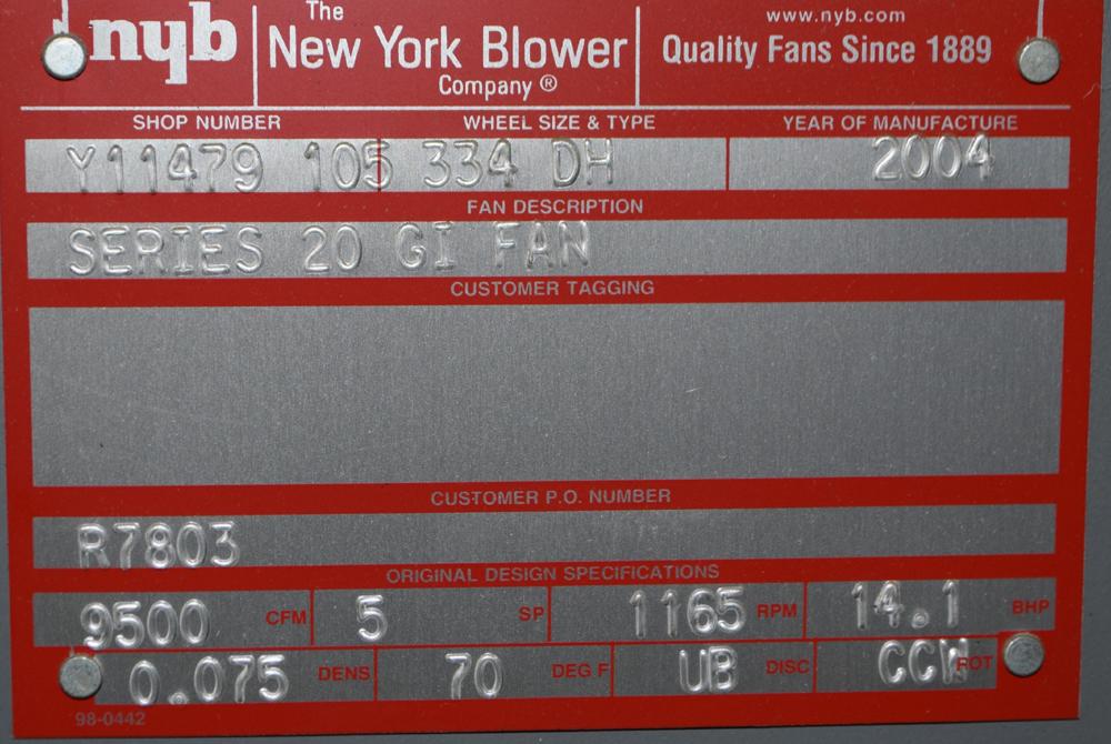 Lot 215 - New York Series 20 GI Fan