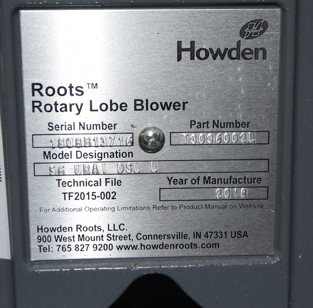 Lot 117 - Rotary Lobe Blowers
