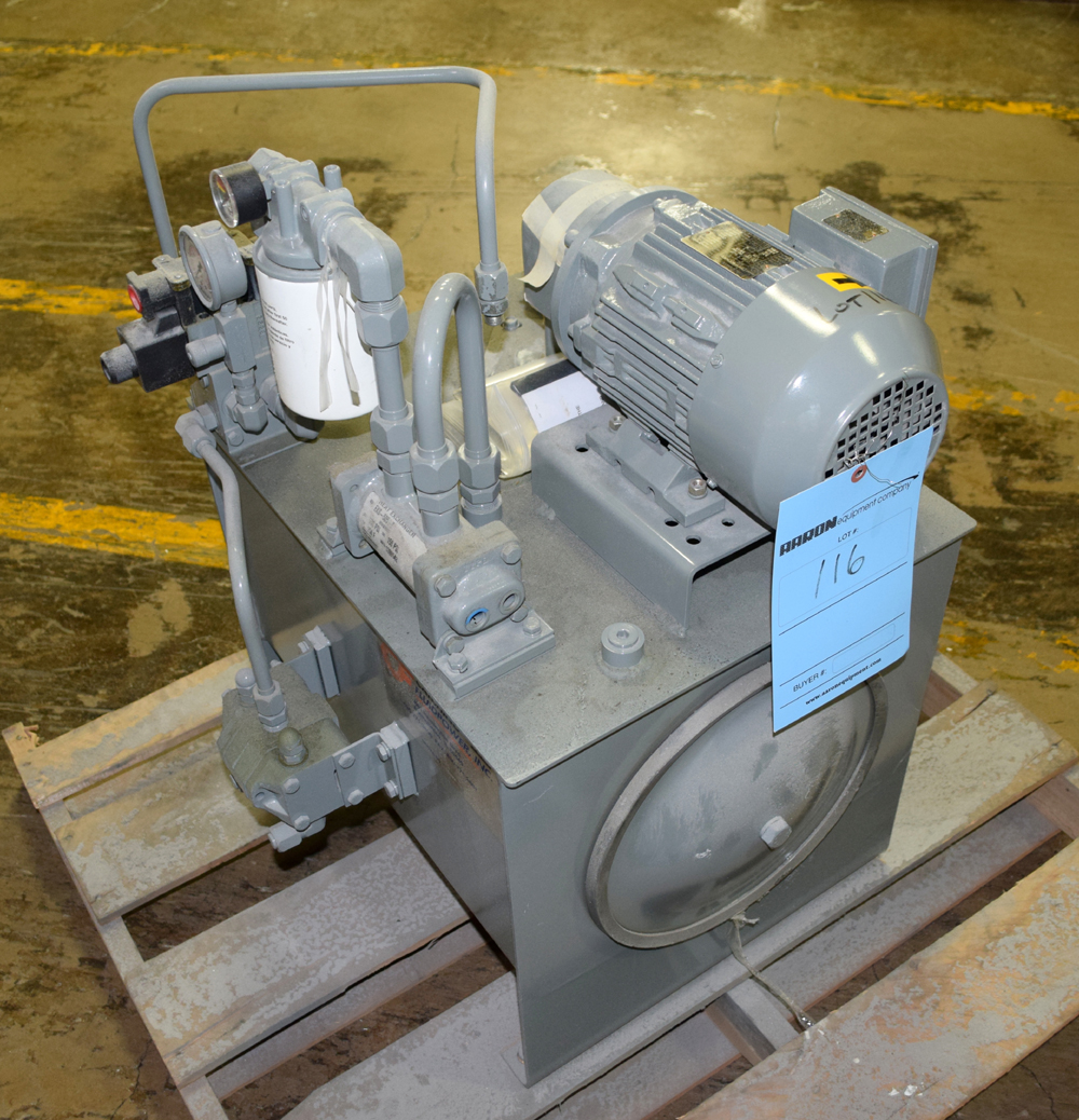 Lot 116 - Hydraulic Power Pack