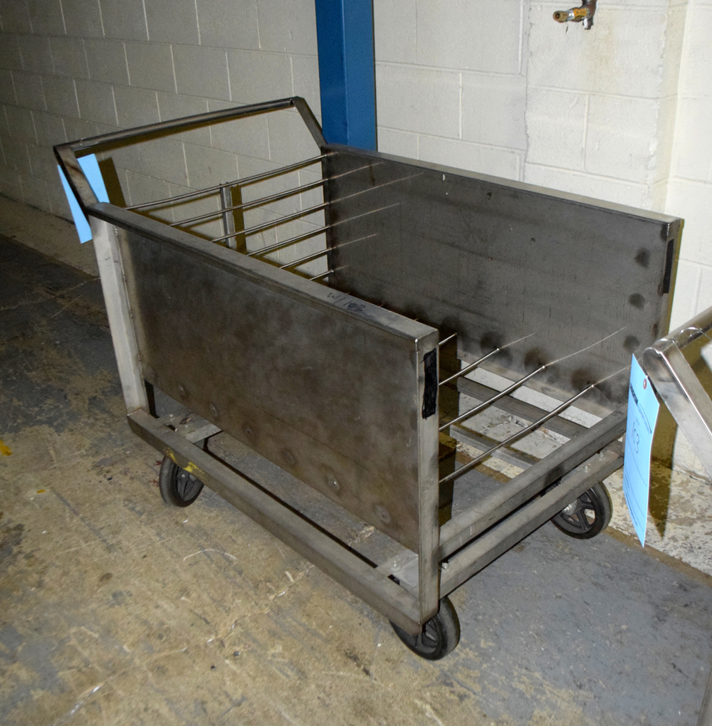 Stainless Steel Carts - Image 2 of 3