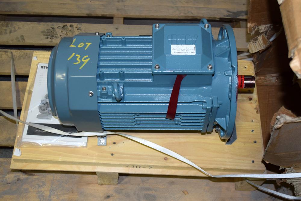 Lot 139 - Unused ABB Motor