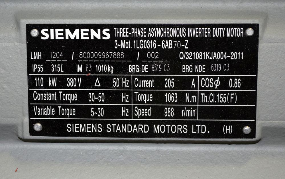 Siemens Motor - Image 4 of 4