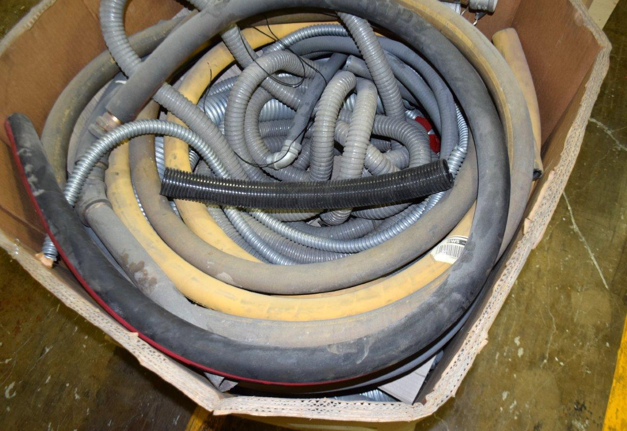 Lot 141 - Bins and Hoses